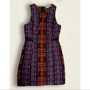 Colourful Aztec Dress by Lush